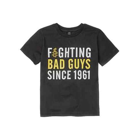 T-shirt kinderen | Fighting bad guys