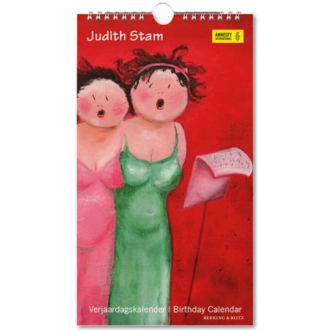 Verjaardagskalender Judith Stam
