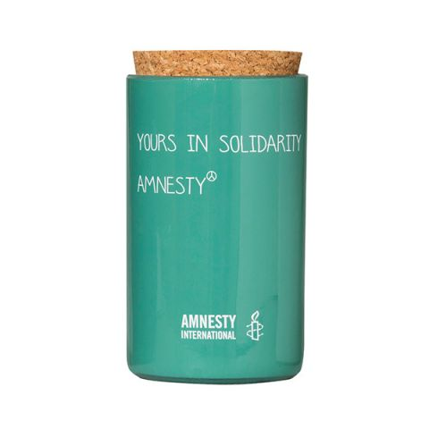 Amnesty Glaskaars Yours in Solidarity