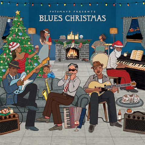 CD Putumayo Blues Christmas