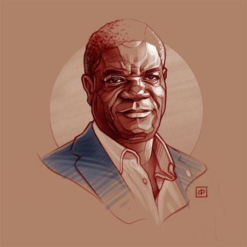 Kunstportret   Denis Mukwege