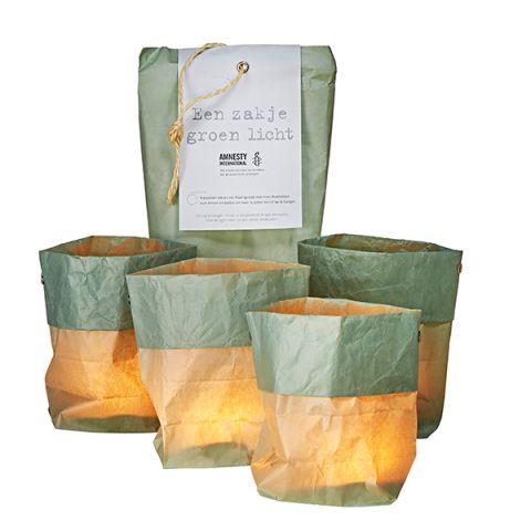 Een zakje met licht | groen