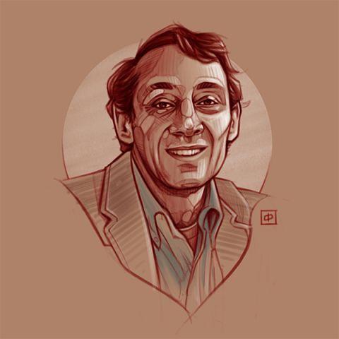 Kunstportret   Harvey Milk
