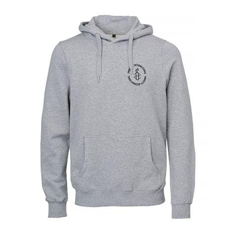 Amnesty logo hoodie   grijs