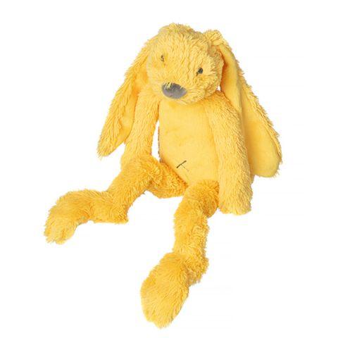 Knuffelkonijn   geel