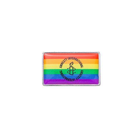 Amnesty-logo speldje Pride