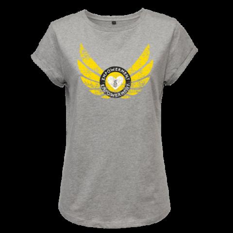 T-shirt Empowerment - geel
