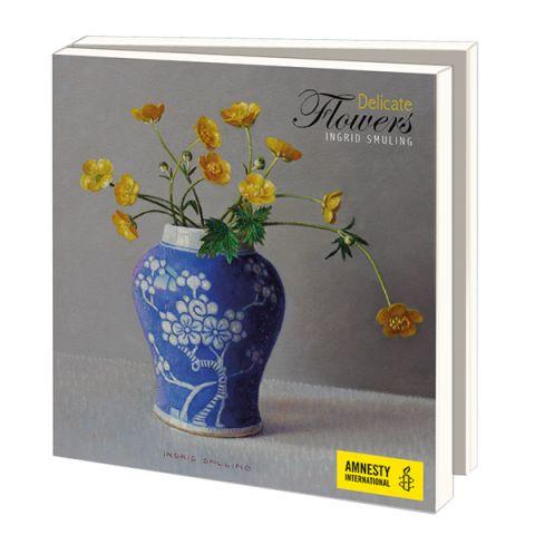 Wenskaarten Ingrid Smuling   Delicate Flowers