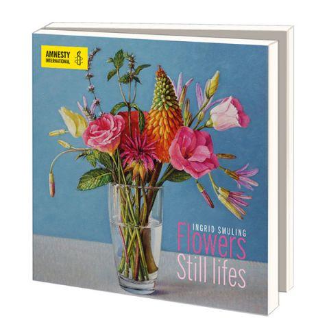 Kaartenmapje Ingrid Smuling   zomerbloemen