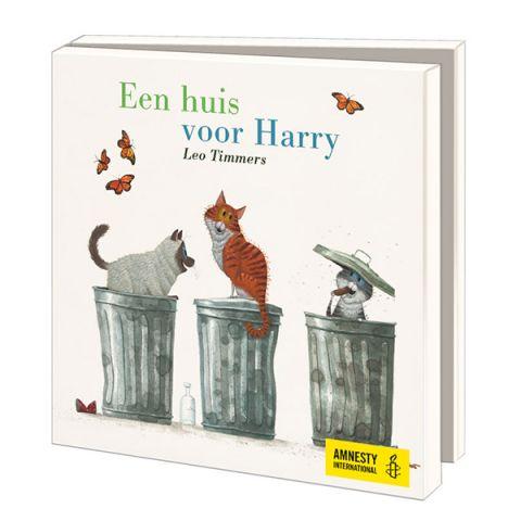 Kaartenmapje Leo Timmers | Een huis voor Harry