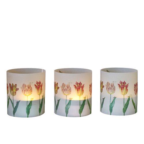 Windlichtjes Tulpen