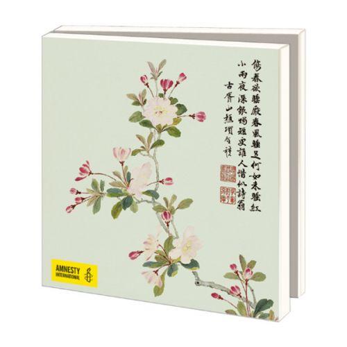 Kaartenmapje Aziatische Bloemen
