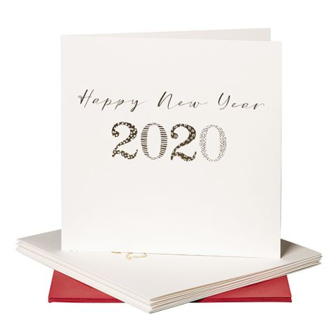 Kerstkaarten Happy 2020