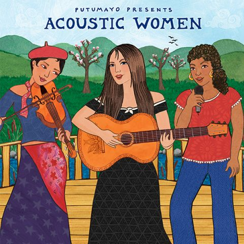 CD Putumayo Acoustic women