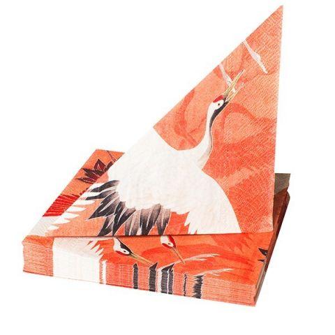 Servetten Kraanvogels