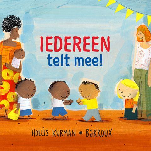 Kinderboek 'Iedereen telt mee'