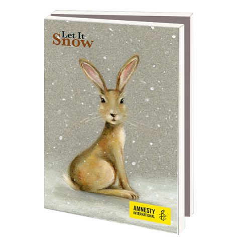 Kerstkaarten  Let it Snow