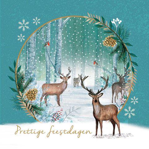 Kerstkaarten bosherten