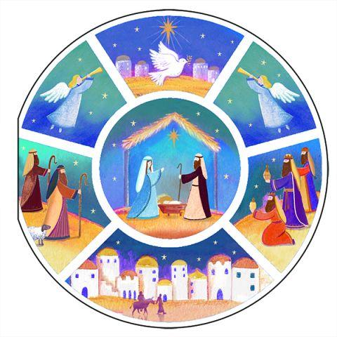 Kerstkaarten Circle Story