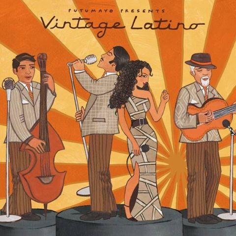 CD Putumayo Vintage Latino