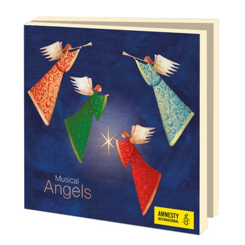 Kerstkaarten  Musical Angels