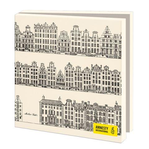 Kaartenmapje  Grachtenhuizen