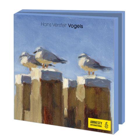 Kaartenmapje Hans Versfelt |vogels