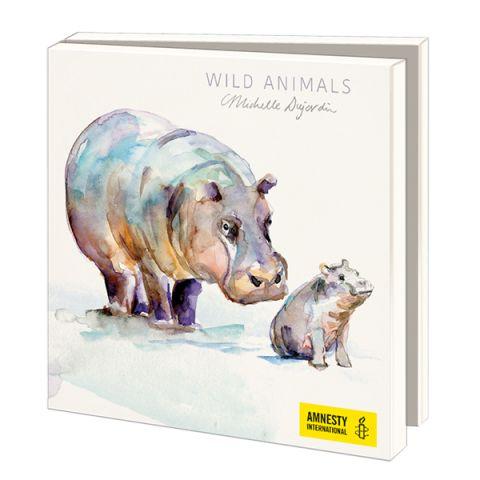 Wenskaarten, Michelle Dujardin, Wild Animals