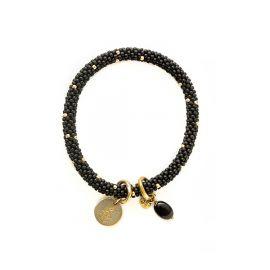 Jacky logo Zwart Armband