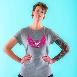 T-shirt Empowerment - roze