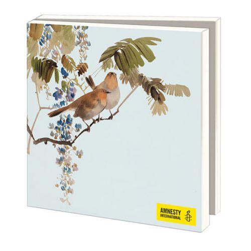 Kaartenmapje Aziatische Vogels