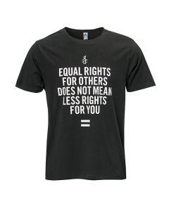 Unisex T-shirt - Equal Rights | Zwart