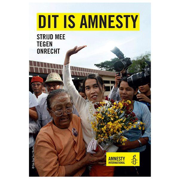 Folder: Dit is Amnesty