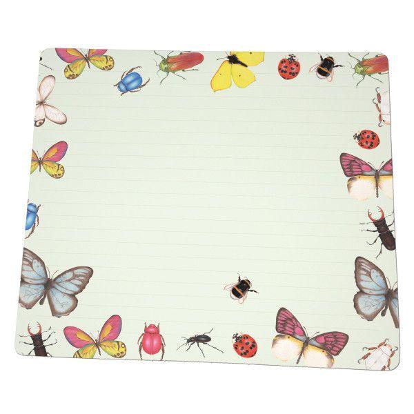 Bureau notitieblok Vlinders