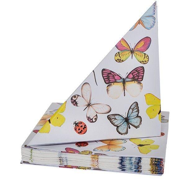 Servetten Vlinders