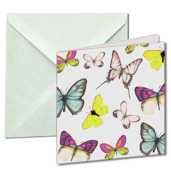 Kaartenmapje Vlinders