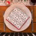 Servetten Vintage Christmas