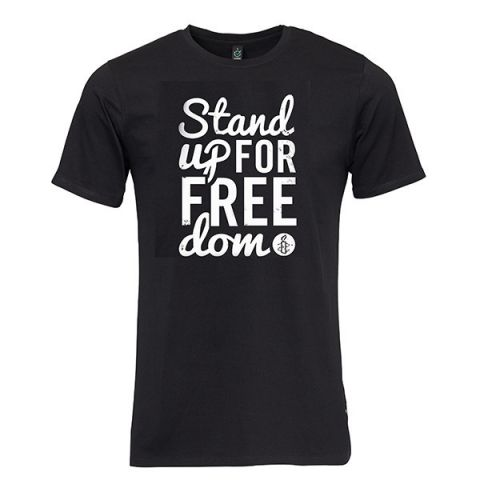 Heren T-shirt Stand up for Freedom