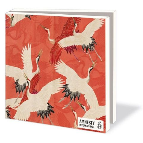 Kaartenmapje Kraanvogels