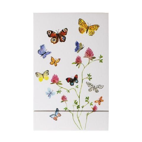 Notitieblok Bloemen en Vlinders