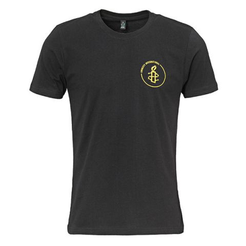 Amnesty basis Heren T-shirt