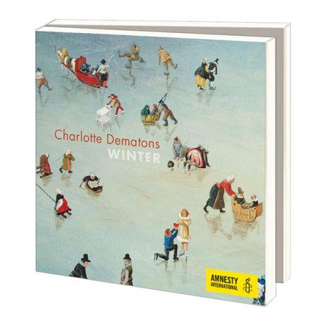 Kerstkaarten Charlotte Dematons Winter