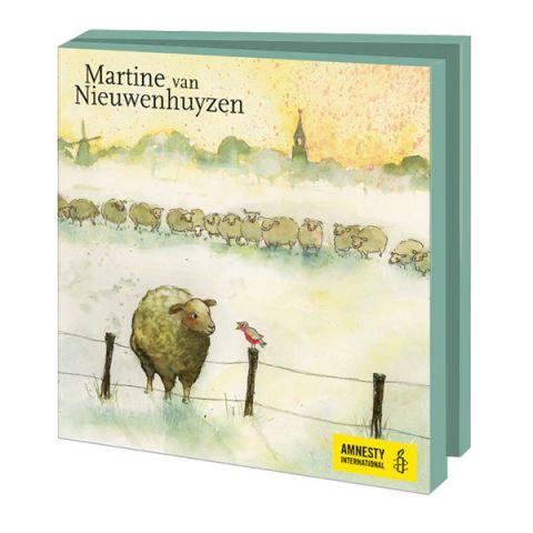 Kerstkaarten Martine van Nieuwenhuyzen
