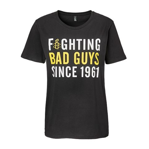 Unisex T-shirt Fighting bad guys
