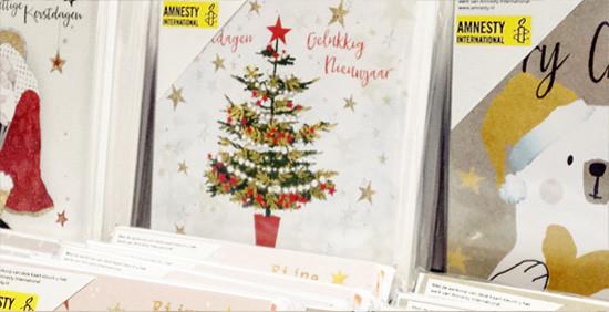 Amnesty kerstkaarten